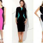 Платье, которое стройнит на 3 размера