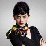 Как завязать большой платок на шее 5 способов как красиво повязать платок на шею