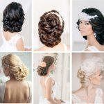 Причёски с диадемой на разные волосы, без фаты и с фатой