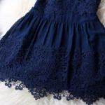 Как пришить кружево к подолу платья своими руками, фото