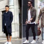 С чем носить белые мужские кроссовки Комбинируем белые кроссовки с различной мужской одеждой