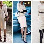 С чем носить бежевое платье стильные сочетания и образы