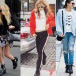 С чем носить женские грубые ботинки девушке Особенности выбора одежды к ним