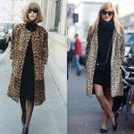 Леопардовое пальто с чем его носить, как не выглядеть вульгарно и смешно