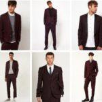 Как правильно носить бордовый пиджак, с чем сочетать мужчинам и женщинам