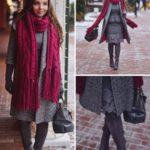Серое пальто с каким цветом шарфа сочетать, как подобрать аксессуары и создать идеальный образ