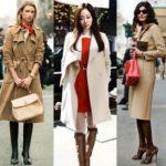 Светлое пальто с чем носить, какие имеет оттенки, выбор по сезонности