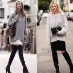 С чем носить свитер оверсайз модные тенденции и рекомендации по стилю