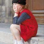 Сарафан для девочки спицами вязаный тёплый сарафан для девочки со схемами и описанием