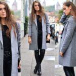 Серое пальто с чем носить, как сочетать с аксессуарами, особенности размера и расцветки