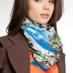Изысканные варианты, как повязать платок на шею 9 способов изысканно завязать шарф на шее