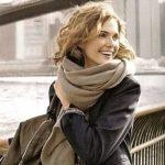 Как красиво завязать палантин на пальто как подобрать палантин к пальто