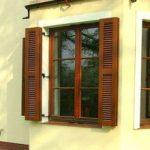 Ставни на окна или как красиво украсить и уберечь окна