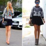 Как сочетать свитшот с юбкой Комбинируем свитшот с различными моделями юбок