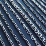 Виды серебряных цепочек как выбрать серебряные цепочки