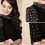 Как украсить чёрное платье украшаем чёрное однотонное платье своими руками