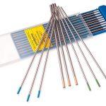 Вольфрамовые электроды для аргонодуговой сварки по цветам
