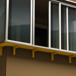 Остекление балконов с выносом плюсы и недостатки, особенности монтажа