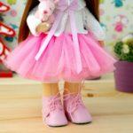 Как сшить юбку из фатина для куклы шьём юбку из фатина для куклы своими руками