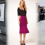 Юбки годе 2019 года модные тенденции и фото стильных образов