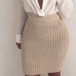 Вязаная юбка резинкой спицами Как связать юбку резинкой спицами для женщин