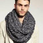 Из какой пряжи лучше вязать шарф мужчине Параметры выбора лучшей пряжи