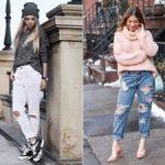 Как заправить свитер в джинсы можно ли заправлять, как сделать это красиво