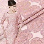 Что такое ткань жаккард на платье разновидности жаккарда для одежды, какое платье можно сшить из