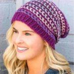 Женская шапка крючком модели на осень, теплые зимние шапки, схемы, описание