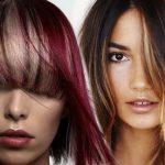 Колорирование волос фото — на темные и светлые волосы колорирование