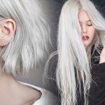 Фото волос пепельного цвета и техника окрашивания в пепельный блонд