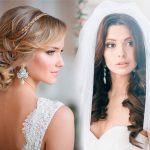 Свадебные прически на длинные волосы фото, новинки