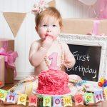 Поздравления с днем рождения 1 годик для девочки