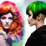 Модное окрашивание волос в 2018 году на средние волосы фото
