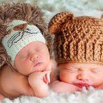 Шапочка для новорожденного от 0 до 3 месяцев спицами