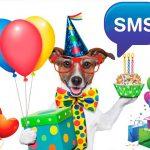 Смс короткие с днем рождения поздравления