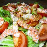 Салат с королевскими креветками рецепт