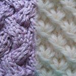 Узоры для вязания спицами с описанием и схемами