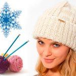 Связать шапку спицами для женщины новые модели (фото)