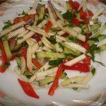 Салат из корня сельдерея и яблок рецепт