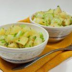 Салат из сельдерея и картофеля рецепт