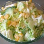 Салат из сельдерея, огурцов и пекинской капусты рецепт