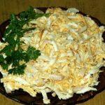 Салат с кальмарами самый вкусный_1