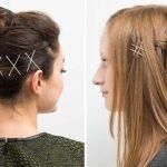 Тренд этого года — невидимки в волосах!