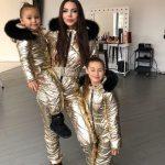 Стильная малышка Оксана Самойлова напомнила, как одевала старшую дочь