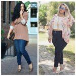Почему — пышкам — нужно соблюдать контраст в одежде и как это сделать стильно