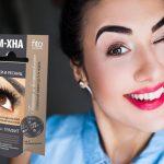 Хна для бровей биотатуаж — фото и видео покраски бровей хной