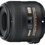 Описание объектива AF-S DX Micro NIKKOR 40mm f