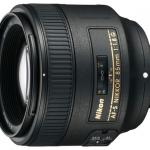 Описание объектива AF-S NIKKOR 85 мм f