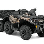 Обзор квадроцикла BRP Can-Am Outlander 6×6 1000 XT